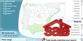 Search property for sale on MAP